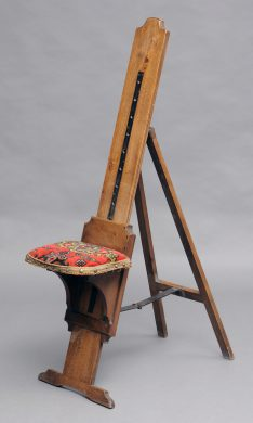 Traveling Combination Artist's Chair and  Easel