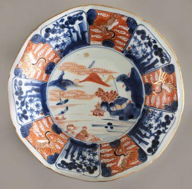 Fine Imari Porcelain Shallow Bowl or Deep Dish
