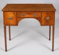 George III Antique Hepplewhite Sideboard, Circa 1790