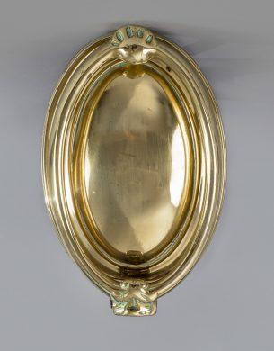 Georgian Neoclassical Brass Door Knocker