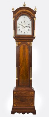 Georgian Longcase Clock by J W Clarke, Circa 1770
