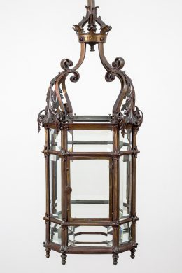 Gothic Reform Bronze Lantern