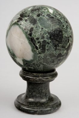 Grand Tour Marble Orb on Stand, Circa 1870