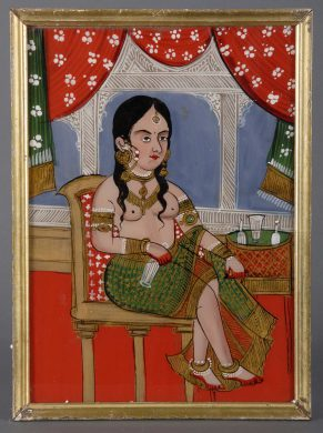 Reverse Glass Painting from Rajastan