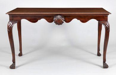 18th Century Irish Mahogany Side Table