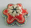 Native American Indian Beadwork Pin Cushion