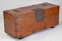 Antique Korean Money Chest or Trunk, 18th Century