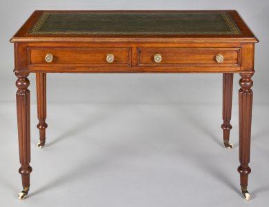 Late Regency Mahogany Small Writing Table