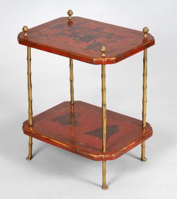 Maison Baguès Chinoiserie End Table
