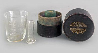 Medicine Glass & Minim Measure