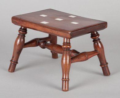 Regency Miniature Lace Makers Table