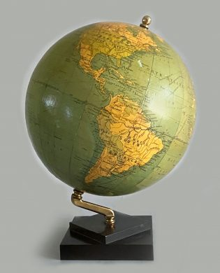 Philips' 9 Inch Terrestrial Globe on Stand