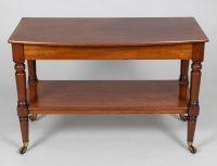Regency Mahogany Two-Tier Trolley or Serving Table