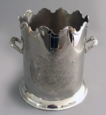 Vintage Magnum Monteith Champagne Bucket or Cooler