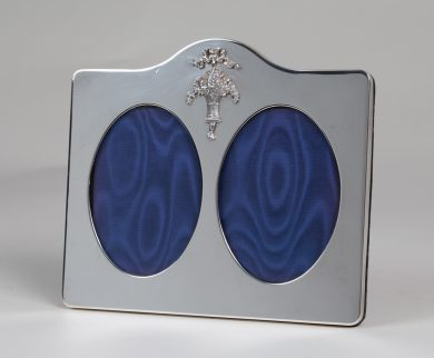 Sterling Silver Double Frame