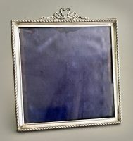 English Sterling Silver Picture Frame, 1927