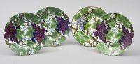 Three Spode Pearlware Dessert Plates