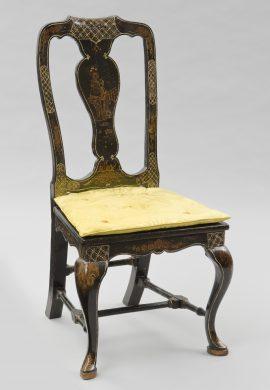 Venetian Antique Chinoiserie Side Chair