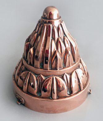Victorian Copper Jelly or Jello Mold