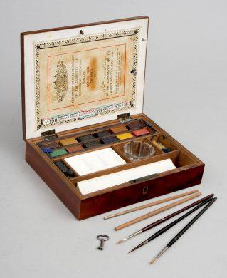 Victorian Artist's Paint Box